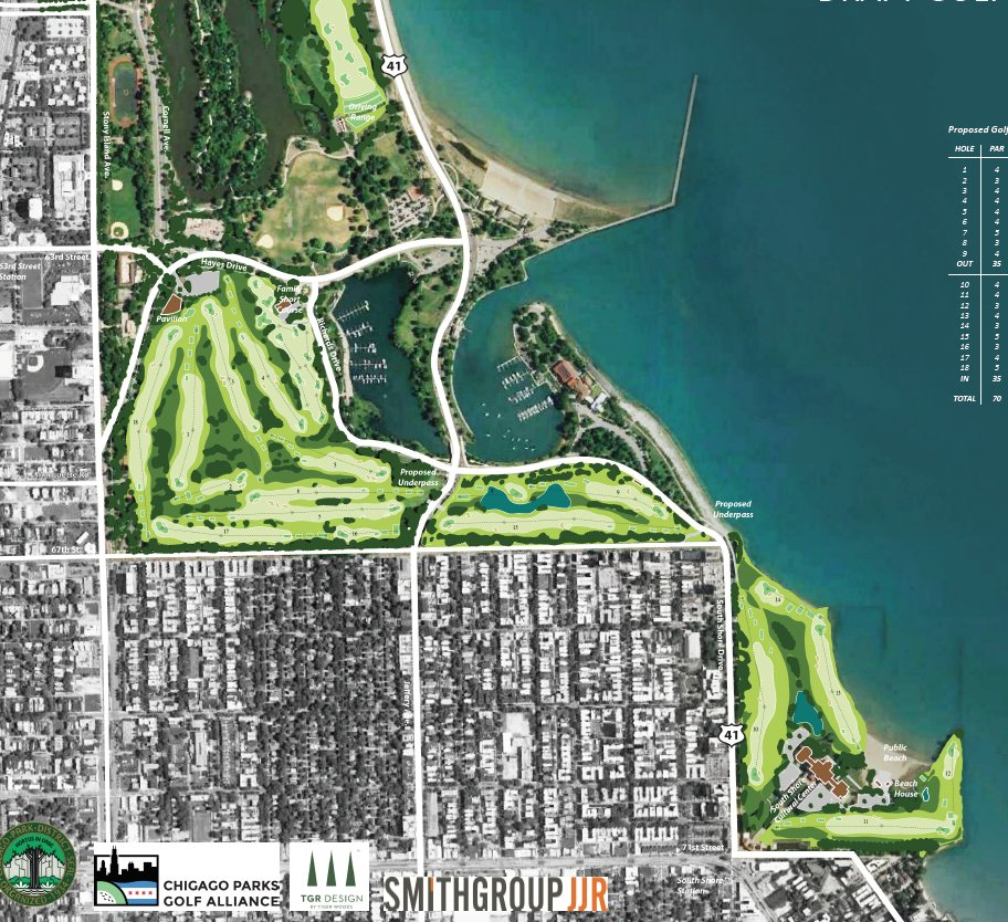 South Shore BMW >> illinoisgolfer - Blog - Jackson Park redesign unveiled