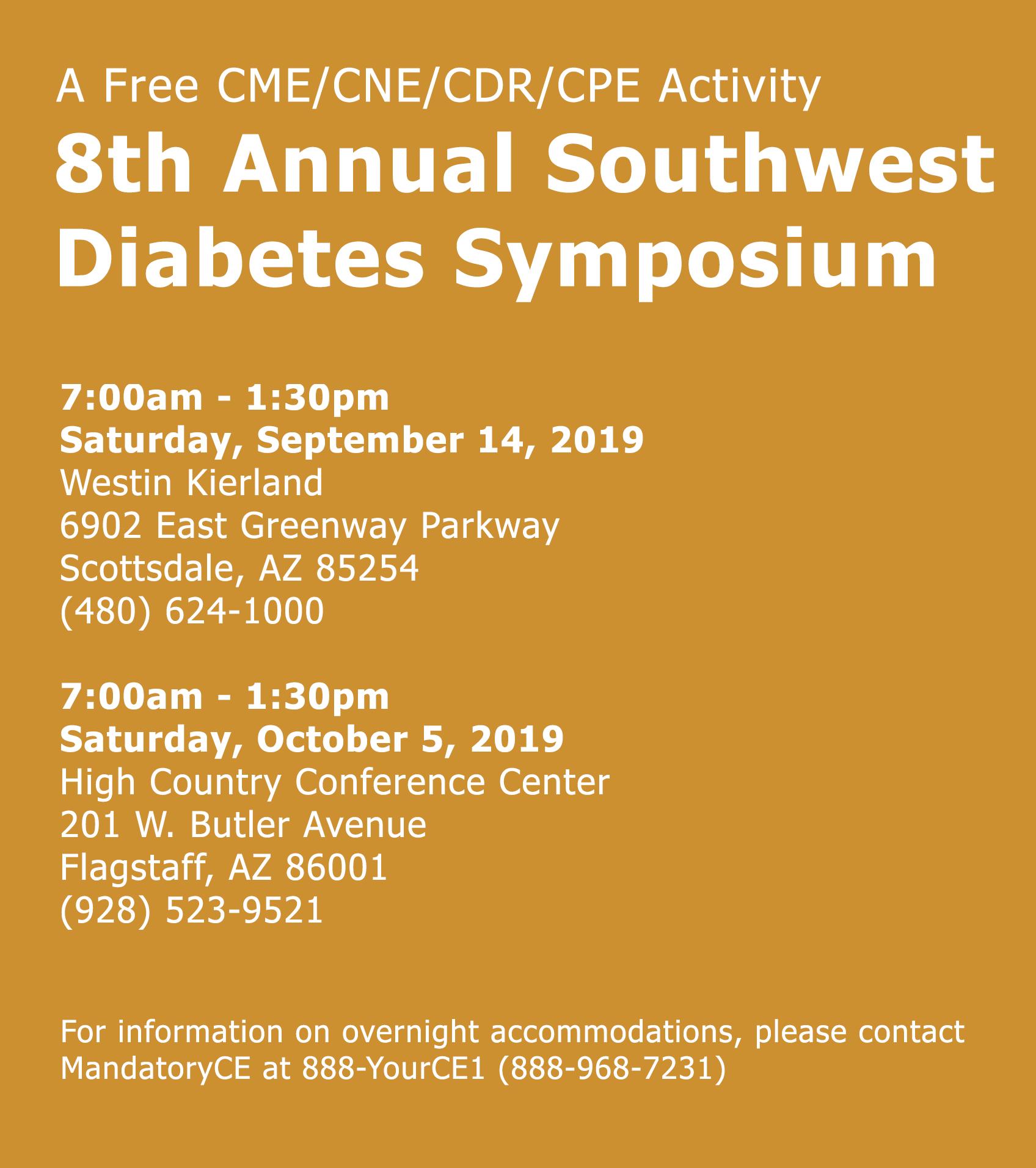 MandatoryCE - SW Diabetes