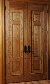 Custom Solid Wood Entry Doors