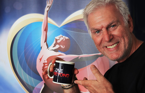Dave Willetts stars as Father God in Love Beyond The Musical at The SSE Arena Wembley (Wembley Arena) on 1 & 2 October 2014