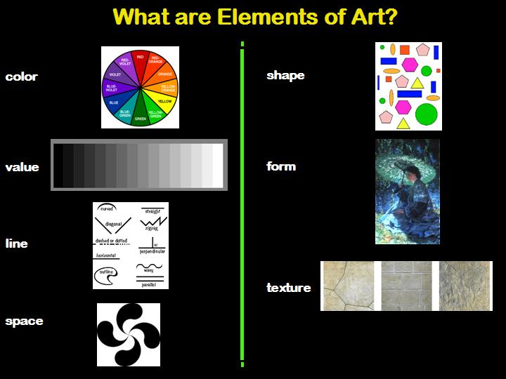 What Is Element Of Arts : What about art lesson the elements of