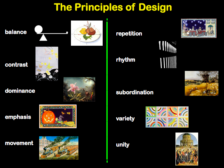 Space Principle Of Design : What about art