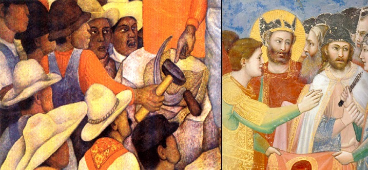 giotto di bondone and pablo picasso Itp 25: st francis receiving the stigmata, by giotto di bondone  date: 08-10-2000 owning institution: louvre, france publication: sunday telegraph in the picture.