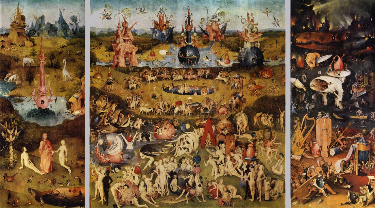 What About Art Blog Hieronymus Bosch The Garden of Earthly