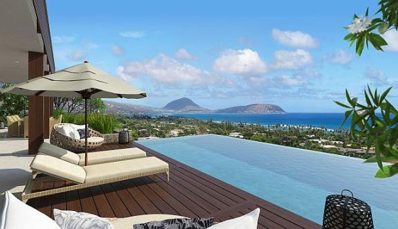 Oahu Luxury Real Estate Photo Diamond Head Home