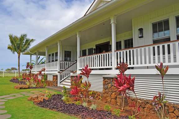 Luxury plantation style home on kauai new construction for Luxury plantation home plans