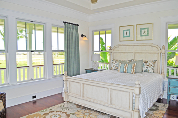Luxury plantation style home on kauai new construction for Plantation style bed