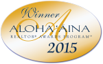 ALOHA AINA WINNER BEST REALTOR ON OAHU