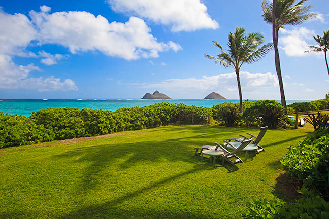 Oahu luxury real estate in lanikai