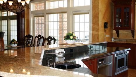 Granite Kitchen Countertops 1 1