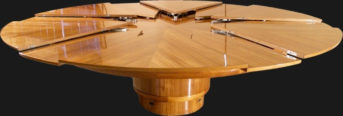 Wonderful Irwin Weiner ASID   There Is Nothing More Useful Than Having A Round Dining  Table That Expands In Seconds. First, The Round Design Is Versatile And  Easy To ...