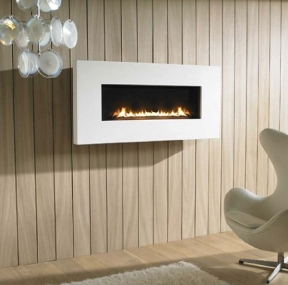 can a freestanding gas fireplace add value to my condo. Black Bedroom Furniture Sets. Home Design Ideas