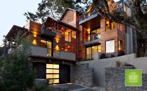 hillside sloping lot house plans