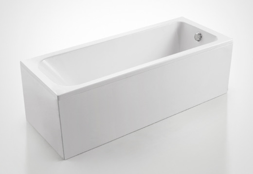 5 skinny bathtubs important for tight bathroom spaces for Narrow deep soaking tub