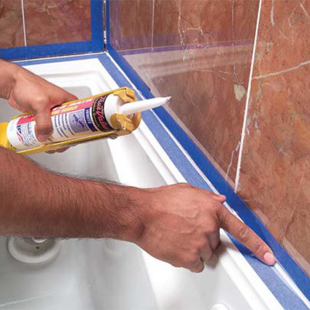 do it yourself video bathtub caulking tips