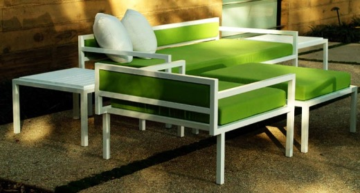 Good ... And Their Lime Green And Pale Powder Blue Upholstery Colors Are Chic  Statements. Visit Modern Outdoor Furniture To Explore Their Various  Collections.