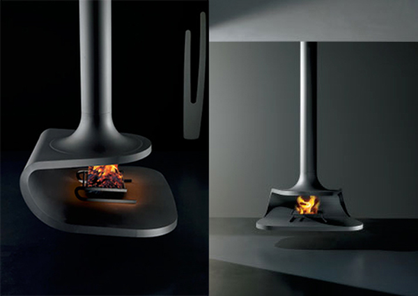 Amazing French Sculptural Fireplaces From Focus Creation Design2share Interior Design Q A
