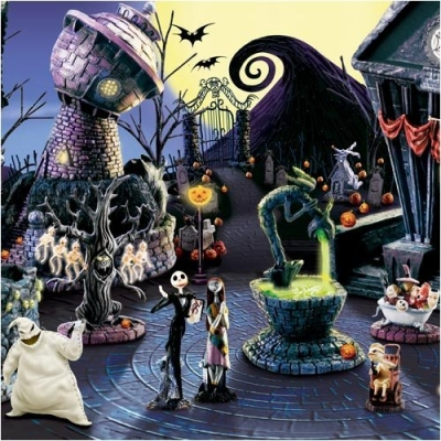 Halloween Town Trippy Design2Share Home Decorating