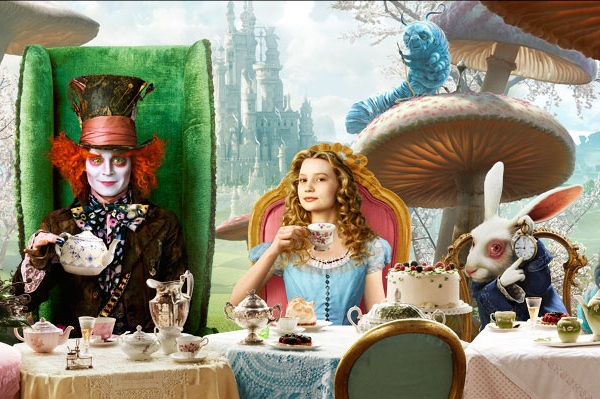 alice tea party images