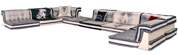 Favorites2share design2share home decorating interior - Roche bobois jean paul gaultier ...