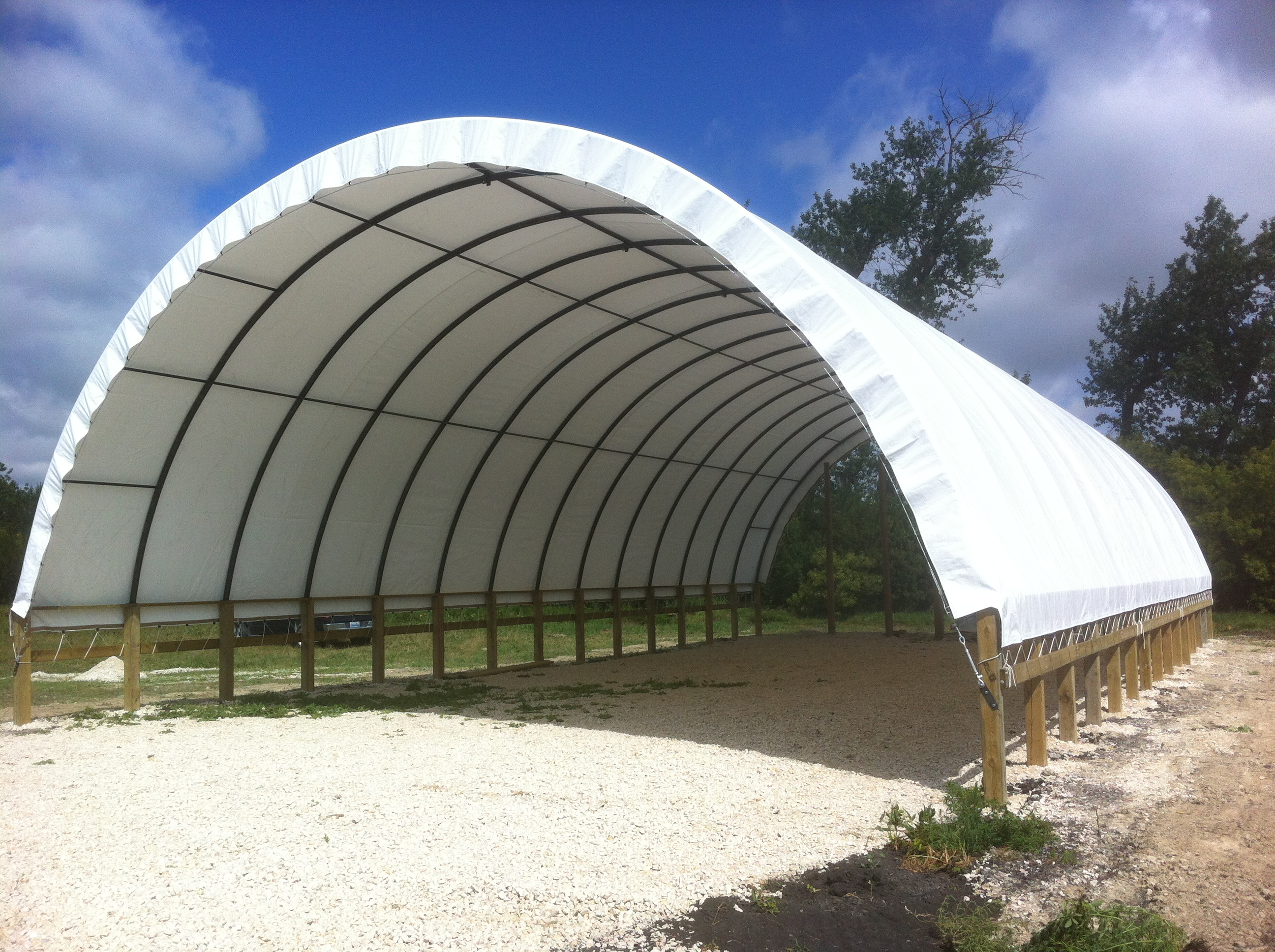 Portable Hay Shelter : Home envirodome and shelters