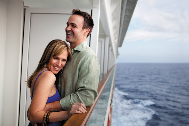 Norwegian Cruise Line picture of a couple on a romantic Cruise