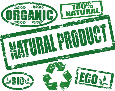 Organic all natural eco bio