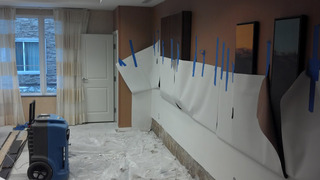 Vesel Construction was called in to handle this hotel restoration project.