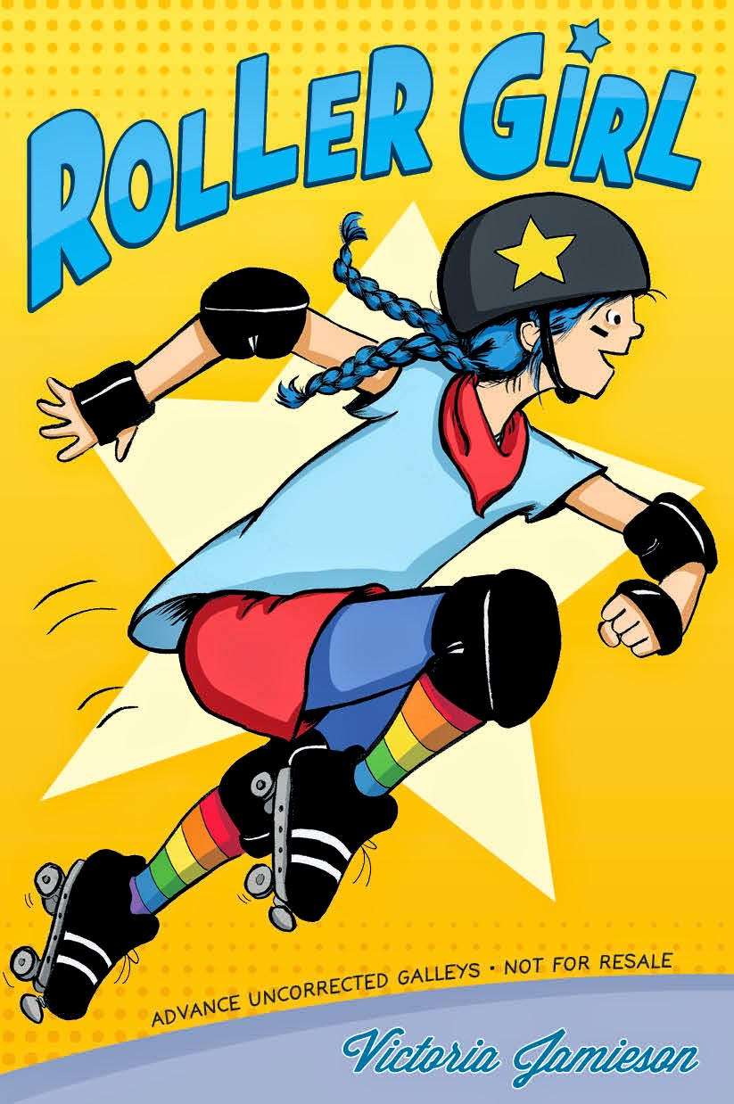 Image result for Roller Girl, written and illustrated by Victoria Jamieson