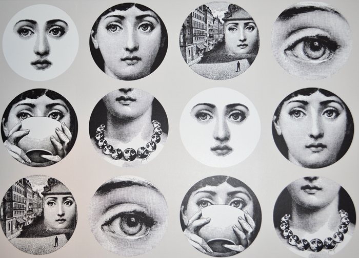 Fornasetti Wallpaper Blog Sara Lowman Interiors