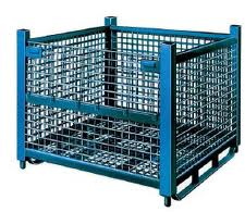 Rugged heavy duty container, metal shipping container