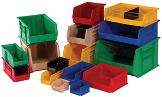 Quantum Storage Systems, Ultra stack bins, Hang Bins, Hang containers, Stacking containers
