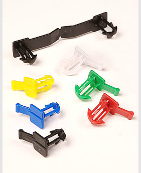 Totesnap clips, totesnap colors, container security, box security, fastener