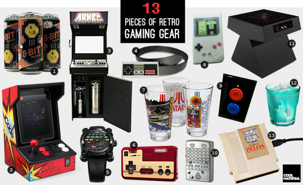 Cool Material: 13 Pieces of Retro Gaming Gear