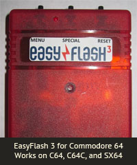 EasyFlash 3 for Commodore 64 Works on C64, C64C, and SX64