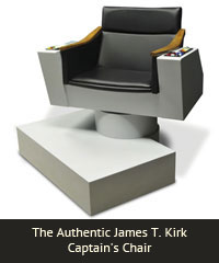 The Authentic James T. Kirk Captain's Chair