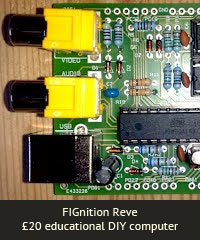 FIGnition Reve £20 educational DIY computer