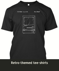 Retro-themed tee-shirt