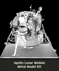Apollo Lunar Module 3D Model Kit