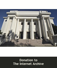 Donation to The Internet Archive