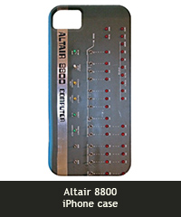 Altair 8800 iPhone case