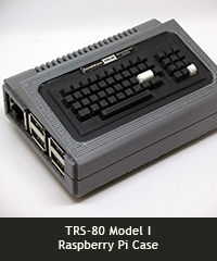 TRS-80 Model I Raspberry Pi Case