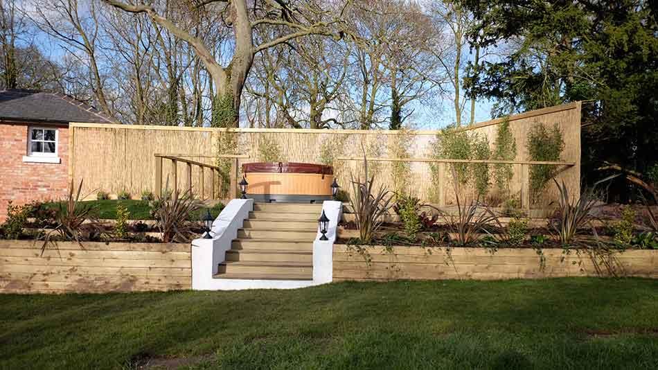 Superieur Hot Tub Garden Design   Garden Design Shrewsbury   Design My Garden    Hornby Garden Designs   Large Garden Designs   Top Garden Designers   Garden  Plant ...