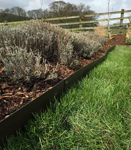 Garden Border Edging Ideas Garden Design Metal Garden Edging