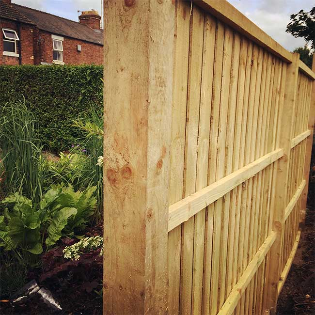 garden fence ideas shrewsbury hornby garden designs