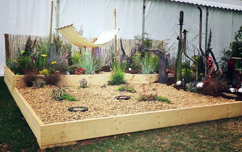 Shrewsbury Flower Show 2015 Show Garden Ideas for Garden