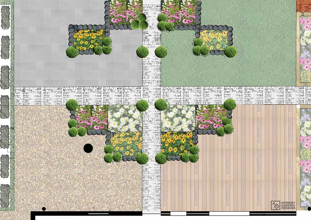 Contemporary garden design in shifnal landscaping ideas for Contemporary garden designs and ideas