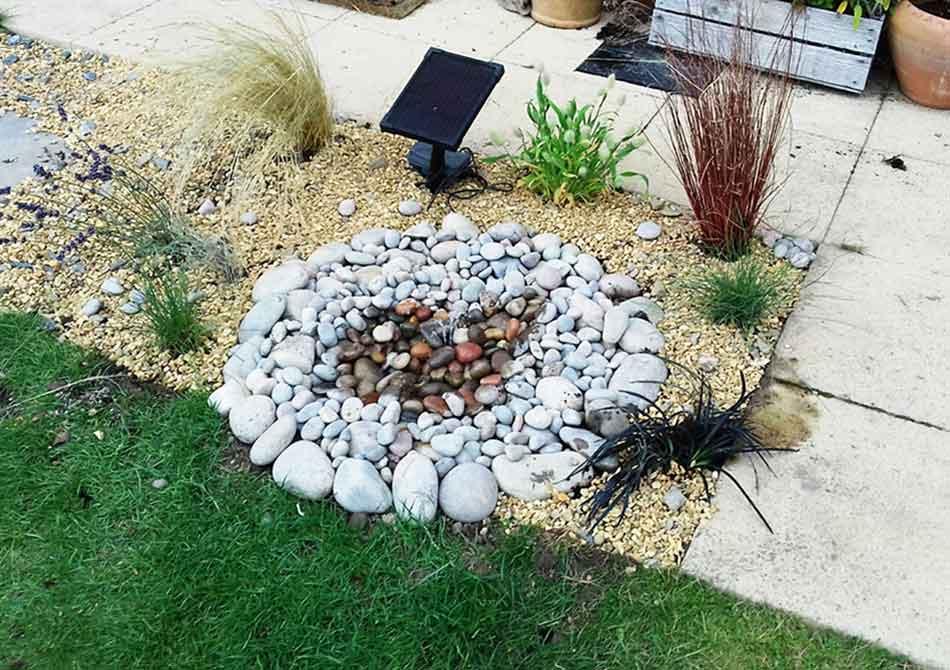 Solar Pond InstallationSmall Garden IdeasGarden Design Ideas