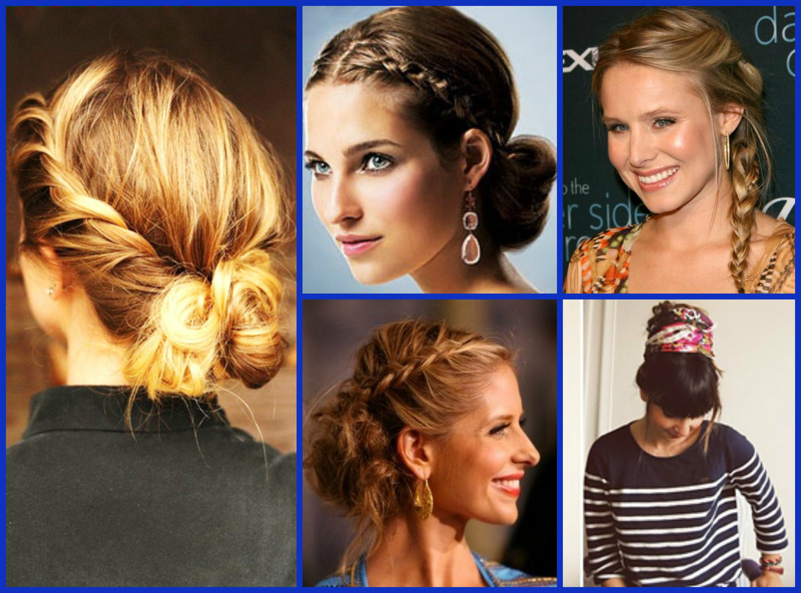 Miraculous French Braid Pin Up Hairstyles Braids Short Hairstyles Gunalazisus