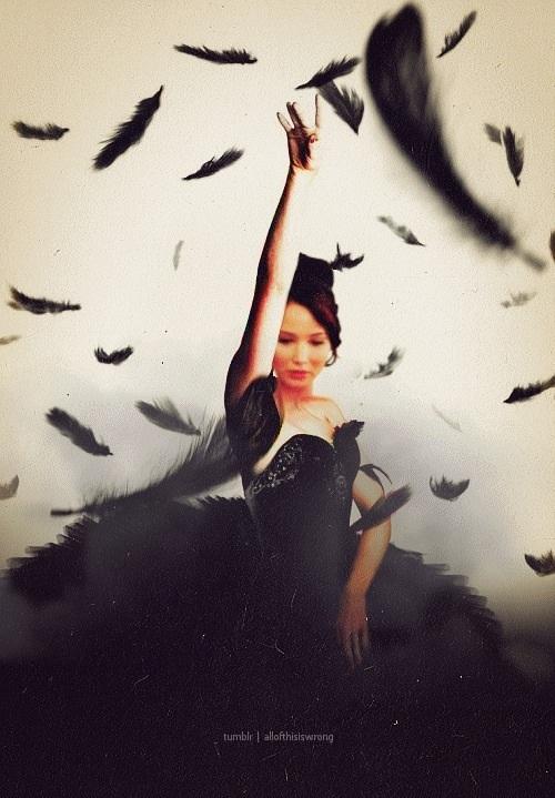 Katniss wedding dress tumblr